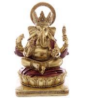 Hindu Statue - Golden Ganesh 14cm
