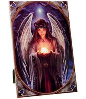 Anne Stokes Art Tile - Yule Angel, large